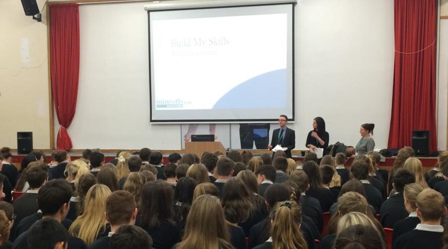 Mincoffs staff take part in school initiative