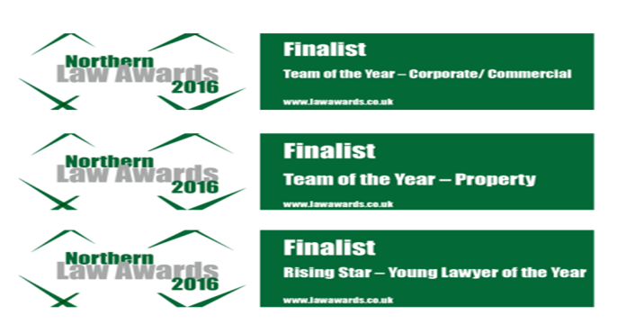 Finalists in Northern Law Awards 2016