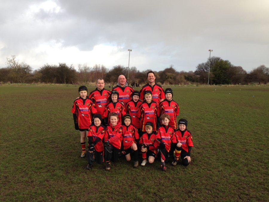 Mincoffs sponsor the Sunderland U9s