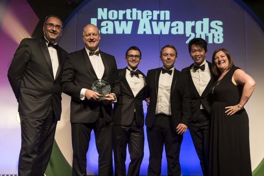 Win for Corporate team at Northern Law Awards 2018