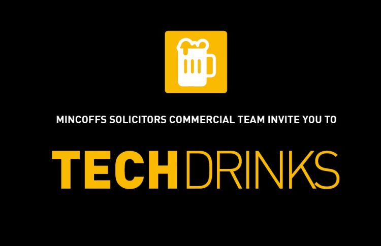 Tech Drinks invitation image