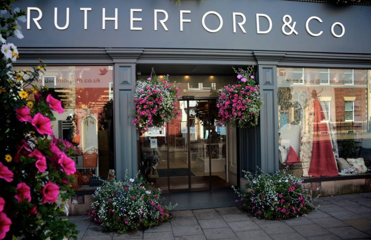 External shot of Rutherfords of Morpeth store
