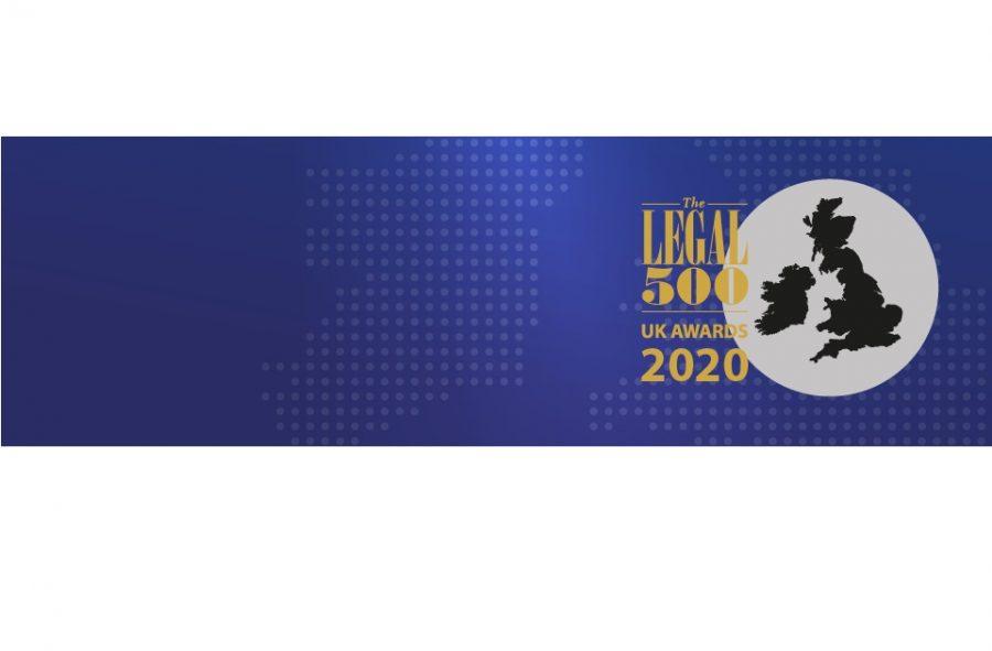 Mincoffs Shortlisted in Legal 500 Awards 2020